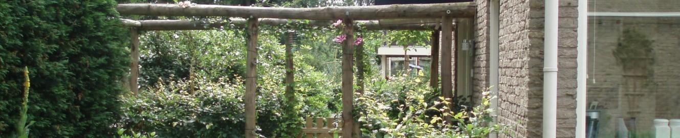 voorbeeld kastanjehouten pergola